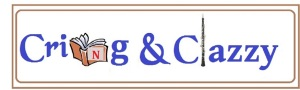 Cring and Clazzy logo with borders blue